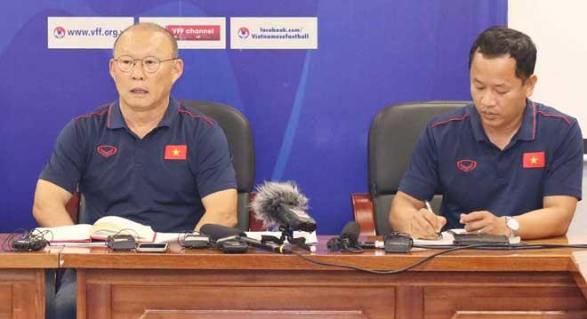 Họp báo HLV Park Hang Seo: Nói gì về Văn Quyết - Huy Toàn? - 2