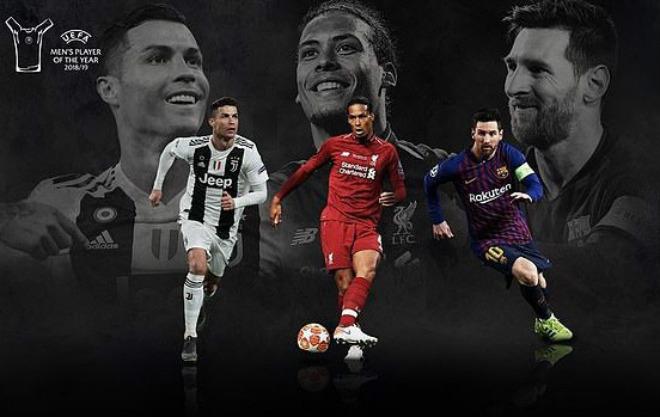 Đêm nay trao giải FIFA The Best: Ronaldo thăng hoa chờ đánh bại Van Dijk - Messi - 1