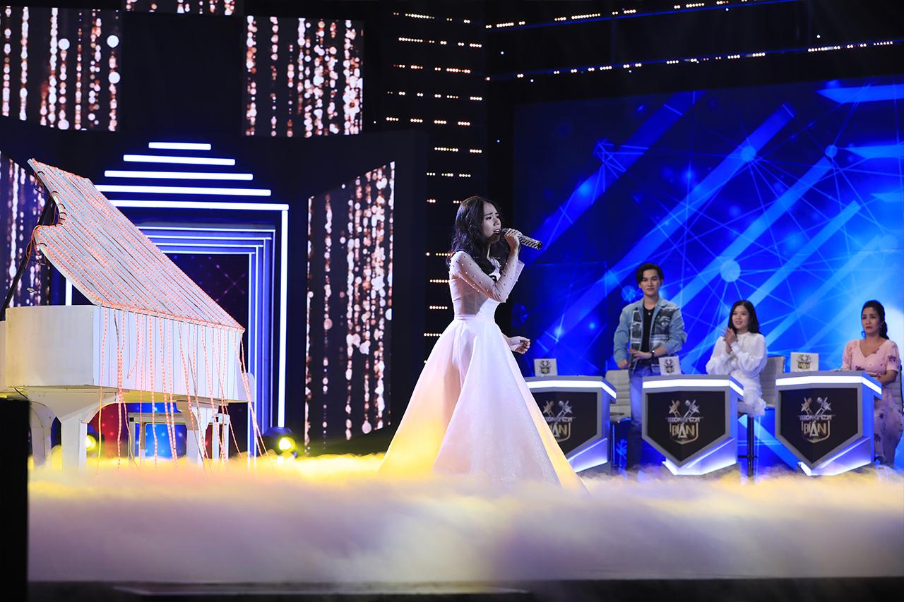 """""""Youtuber triệu view"""" Hương Ly lộ diện xinh đẹp trước hàng triệu khán giả truyền hình - 3"""