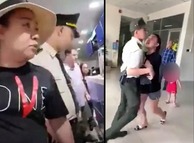 Nữ đại úy công an lăng mạ nhân viên sân bay bị đề nghị giáng cấp bậc hàm