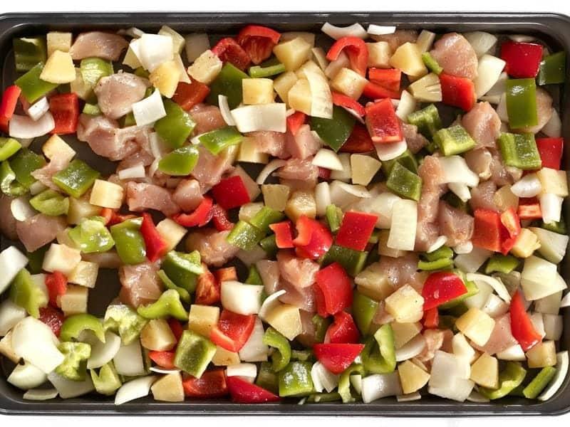 Cách làm gà lúc lắc chua ngọt càng ăn càng mê