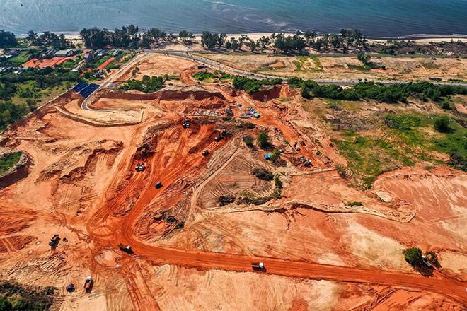 Cận cảnh tiến độ xây dựng của những dự án gây bão tại Phan Thiết - 7