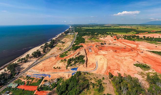 Cận cảnh tiến độ xây dựng của những dự án gây bão tại Phan Thiết - 8