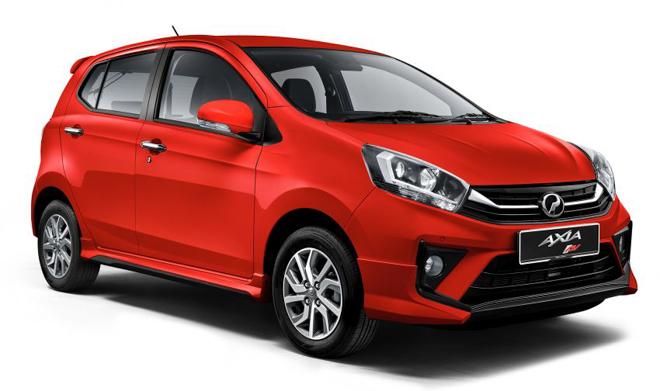 Xe quốc dân Malaysia Perodua Axia 2019 có giá bán hơn 200 triệu đồng - 1