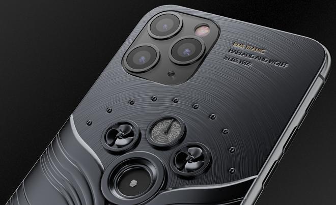 NÓNG: iPhone 11 Pro đính mảnh vỡ tàu vũ trụ và tàu Titanic, giá gần tỷ đồng - 6