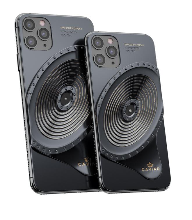 NÓNG: iPhone 11 Pro đính mảnh vỡ tàu vũ trụ và tàu Titanic, giá gần tỷ đồng - 2