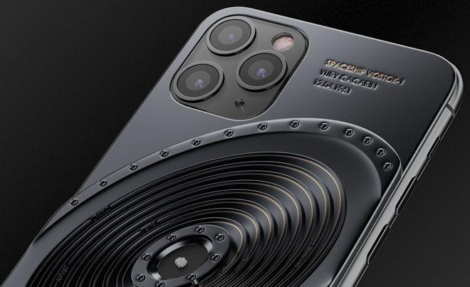 NÓNG: iPhone 11 Pro đính mảnh vỡ tàu vũ trụ và tàu Titanic, giá gần tỷ đồng - 3