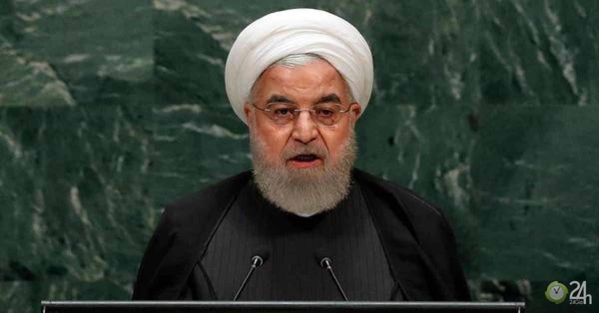 Chịu hết nổi Mỹ, Tổng thống Iran trút hết vào phát biểu-Thế giới