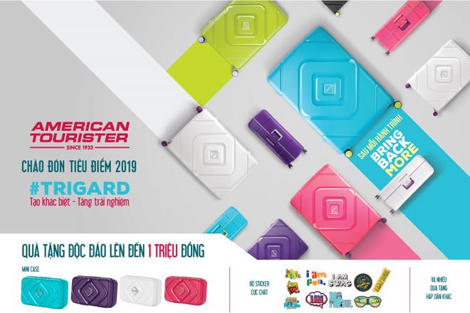 """American Tourister chào đón """"tiêu điểm 2019"""" với bộ sưu tập Trigard - 4"""