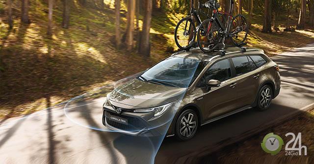 Toyota Corolla có thêm phiên bản Trek kết hợp với hãng xe đạp