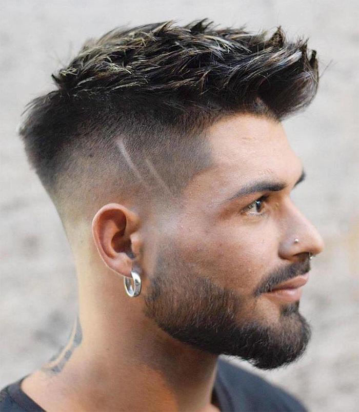 Kiểu tóc nam đẹp 2019 chuẩn men phù hợp với từng khuôn mặt - 13