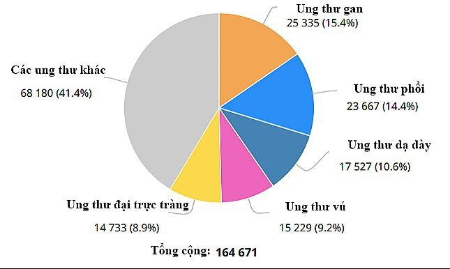 Nguyên nhân gây ra căn bệnh ung thư có tỷ lệ mắc mới nhiều nhất hiện nay tại Việt Nam - 1