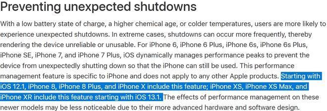 iPhone XS, XS Max và XR sẽ bị hạn chế hiệu năng khi nâng cấp lên iOS 13.1 - 1