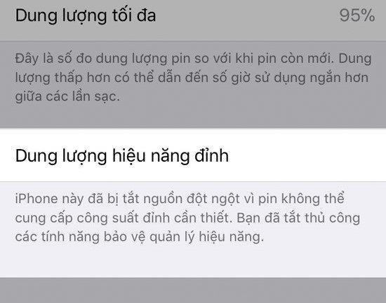 iPhone XS, XS Max và XR sẽ bị hạn chế hiệu năng khi nâng cấp lên iOS 13.1 - 4