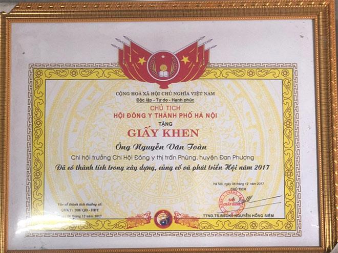 Lương y Nguyễn Văn Toàn: Người thầy thuốc tài ba, giàu tâm đức - 2