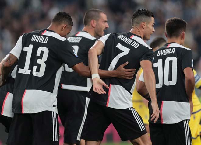 """Đua song mã nóng rực vòng 6 Serie A: """"Bức tường"""" Inter, Juventus khó đuổi kịp - 2"""