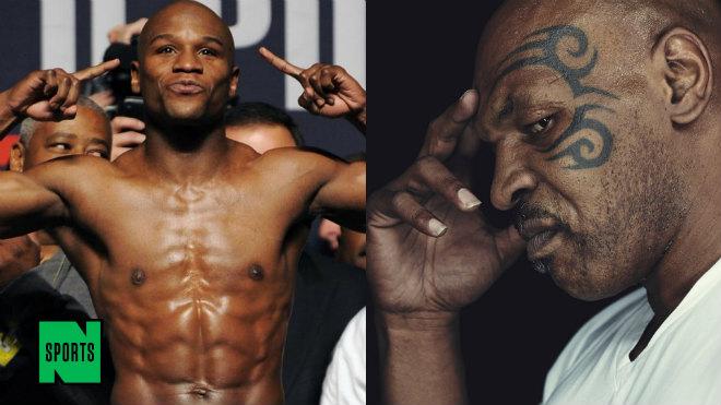 """Mayweather vỗ ngực """"xưng thần"""" boxing: Mike Tyson dọa """"xử đẹp"""" - 1"""