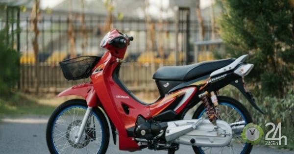 Vua xe số Honda Wave lên đồ chơi đẹp đến nao lòng người hâm mộ