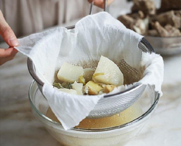 Học người Hàn nấu món canh sườn cực ngon, ăn là thích mê - 4