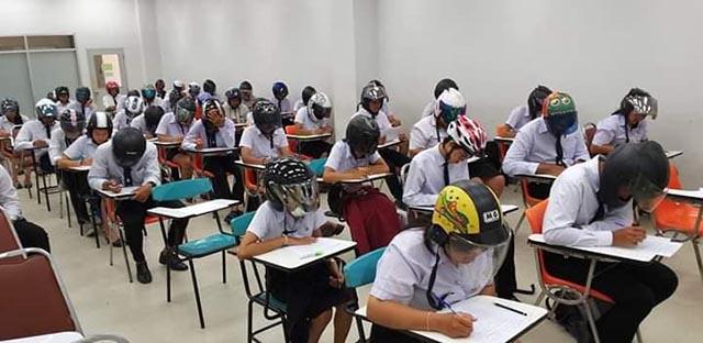 Tổng hợp những cách chống gian lận thi cử bá đạo của giáo viên trên khắp thế giới - 2