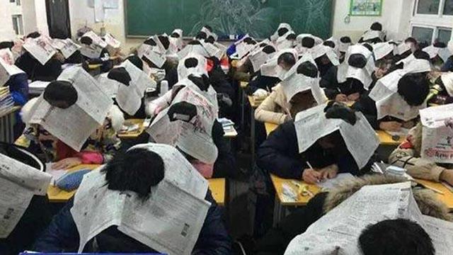 Tổng hợp những cách chống gian lận thi cử bá đạo của giáo viên trên khắp thế giới - 6