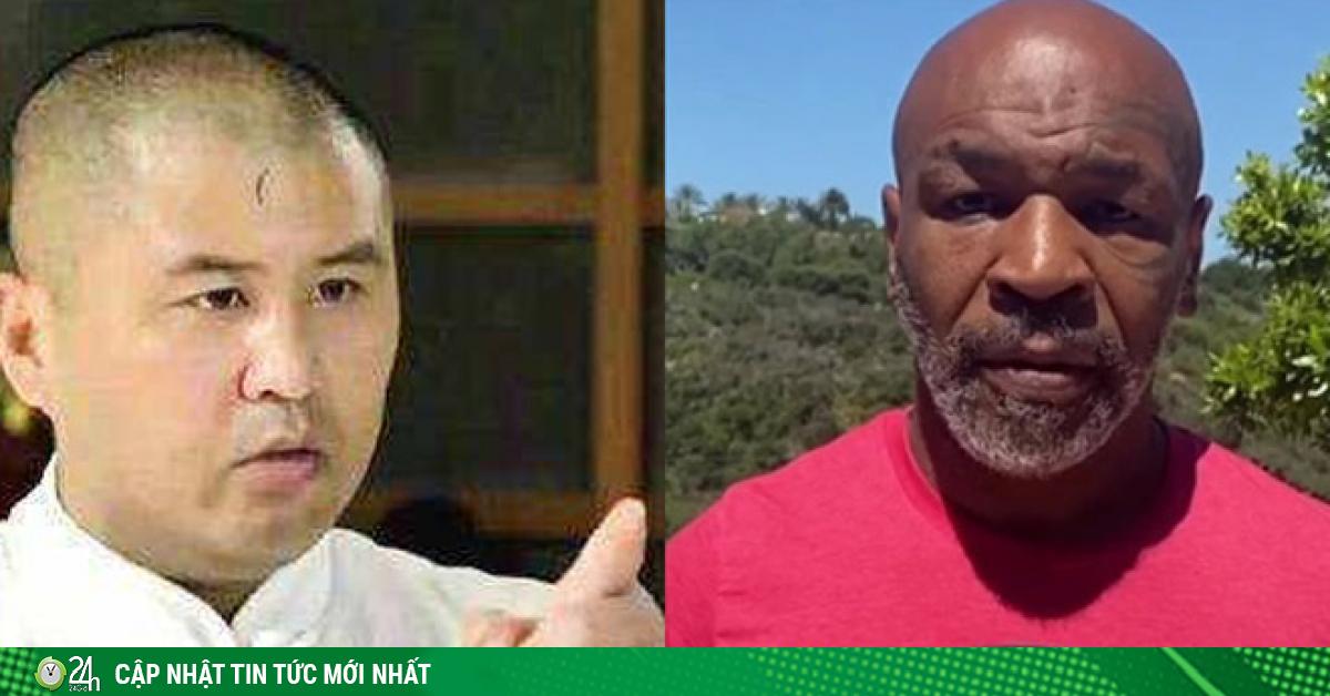 Mike Tyson 54 tuổi đấm như súng máy vẫn bị võ sư Trung Quốc dìm hàng