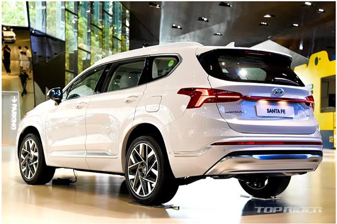 Hyundai SantaFe 2021 chính thức ra mắt, giá từ 620 triệu đồng - 3