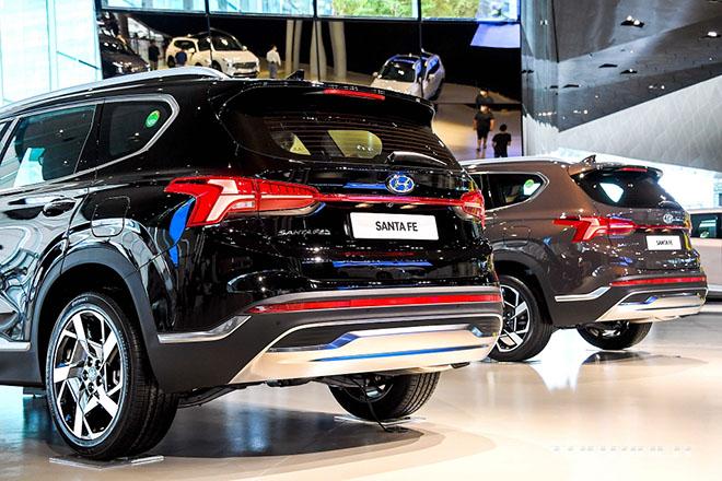 Hyundai SantaFe 2021 chính thức ra mắt, giá từ 620 triệu đồng - 6