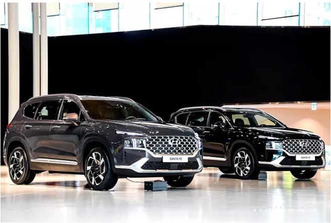 Hyundai SantaFe 2021 chính thức ra mắt, giá từ 620 triệu đồng - 5
