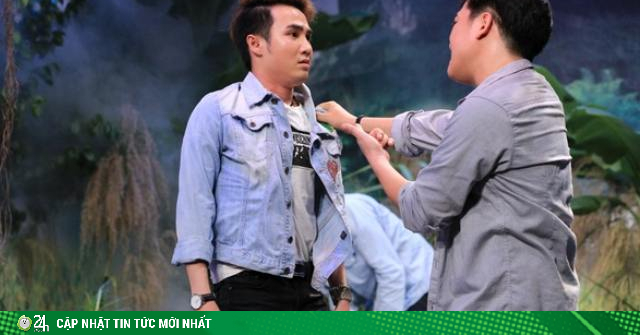 Sao nam bất ngờ hôn Trường Giang trên sóng truyền hình là ai?