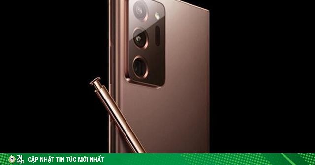Samsung vô tình để lộ hình ảnh Galaxy Note20 Ultra