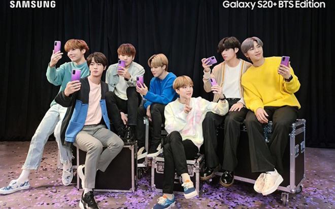 HOT: Galaxy S20+ bản BTS màu tím mê mẩn đã có mặt tại Việt Nam - 1