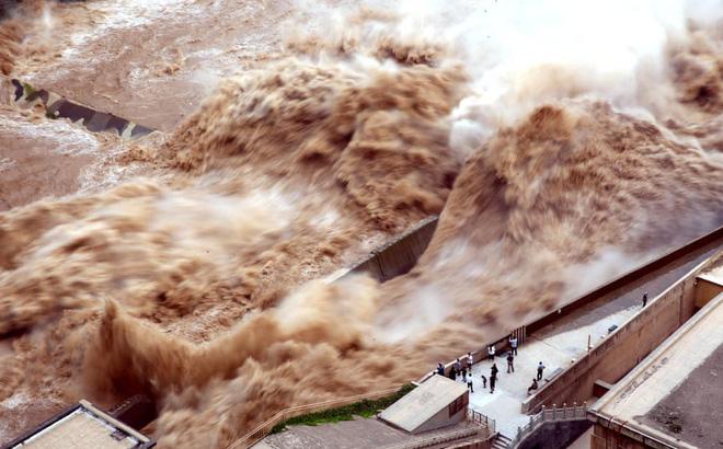 """TQ: Nước dồn về đập Tam Hiệp đã ngang với """"đại hồng thủy"""" từng ..."""