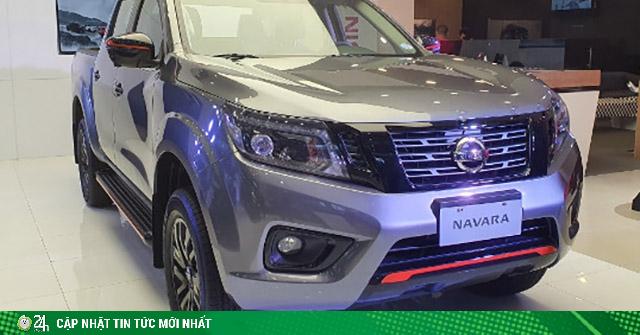 Nissan Navara Black Edition được các đại lý nhận đặt cọc, giá khoảng 845 triệu đồng