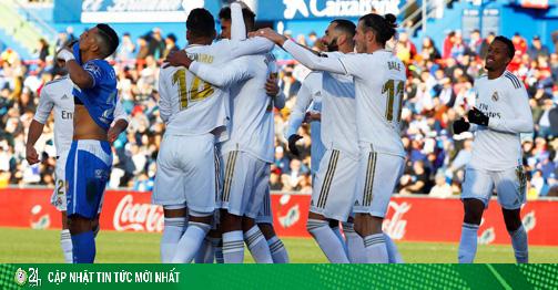 Trực tiếp bóng đá Real Madrid - Getafe: Thừa thế xây chắc ngôi đầu