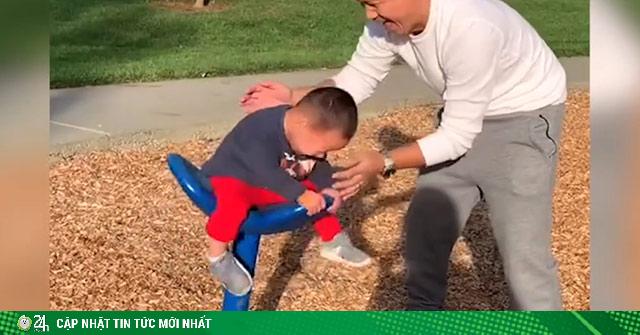 Khi các ông bố có tay nhanh hơn não