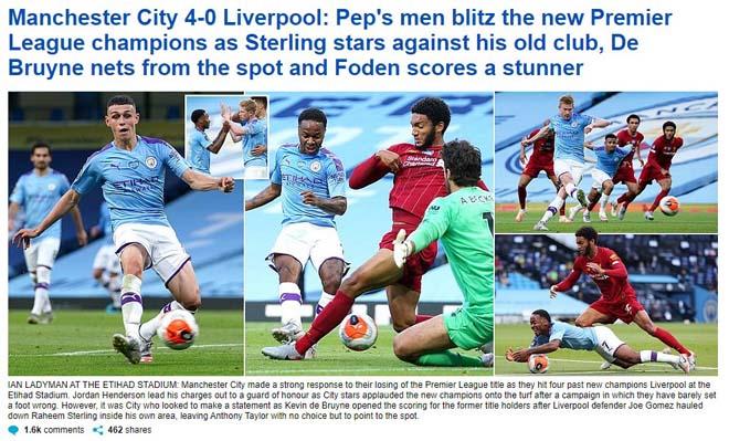 Liverpool thua thảm Man City: Báo Anh chê tơi tả tân vương Ngoại hạng Anh - 2