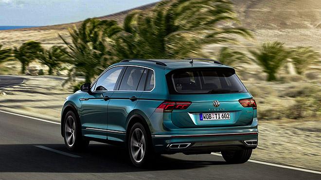 Volkswagen Tiguan phiên bản nâng cấp trình làng, thêm bản hiệu suất cao - 3