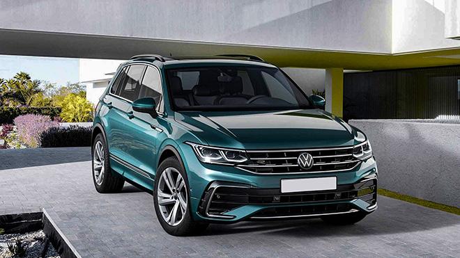Volkswagen Tiguan phiên bản nâng cấp trình làng, thêm bản hiệu suất cao - 1