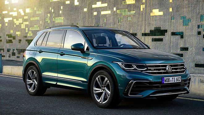 Volkswagen Tiguan phiên bản nâng cấp trình làng, thêm bản hiệu suất cao - 4