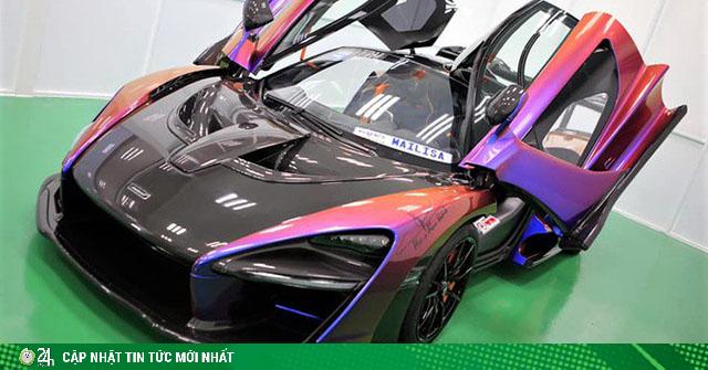 Siêu phẩm McLaren Senna MSO đầu tiên tại Việt Nam, giá bán khoảng 50 tỷ đồng