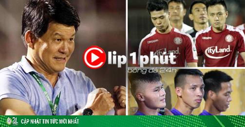 Vì sao đội Công Phượng, Quang Hải ngán CLB kỳ dị nhất V-League? (Clip 1 phút Bóng đá 24H)