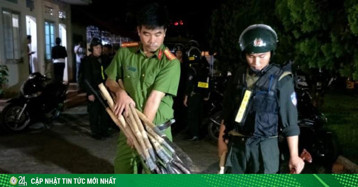 16 người bị bắt liên quan vụ hỗn chiến ở Đắk Lắk