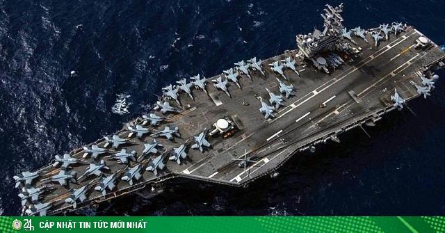 Thông điệp của Mỹ khi điều 2 tàu sân bay đến Biển Đông, nơi TQ đang tập trận