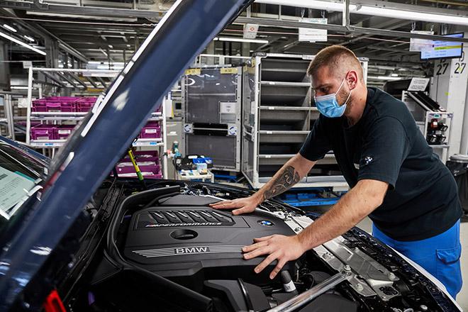 BMW 4-Series 2021 chính thức đi vào sản xuất, bán ra vào mùa thu - 12
