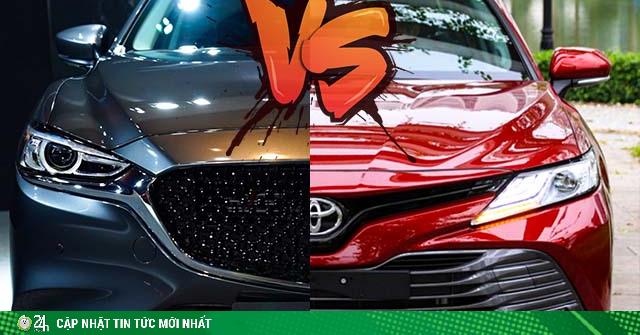 So sánh Toyota Camry và Mazda 6, lệch nhau hon 180 triệu đồng liệu có phải là điểm nhấn