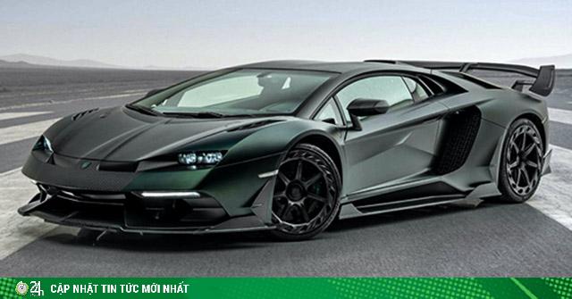 Hãng độ Mansory lột xác siêu xe Lamborghini Aventador SVJ triệu đô