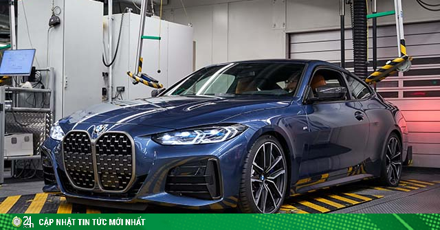 BMW 4-Series 2021 chính thức đi vào sản xuất, bán ra vào mùa thu