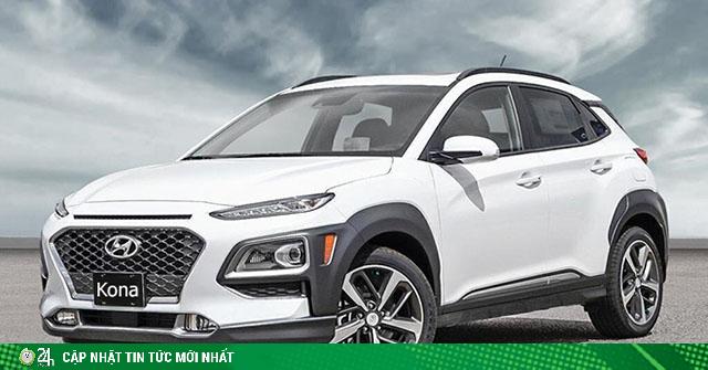 Bảng giá xe Hyundai Kona lăn bánh tháng 7/2020 giảm 50% LPTB