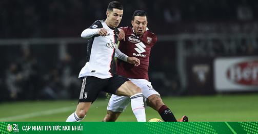 Trực tiếp bóng đá Juventus - Torino: Ronaldo coi chừng vết xe đổ